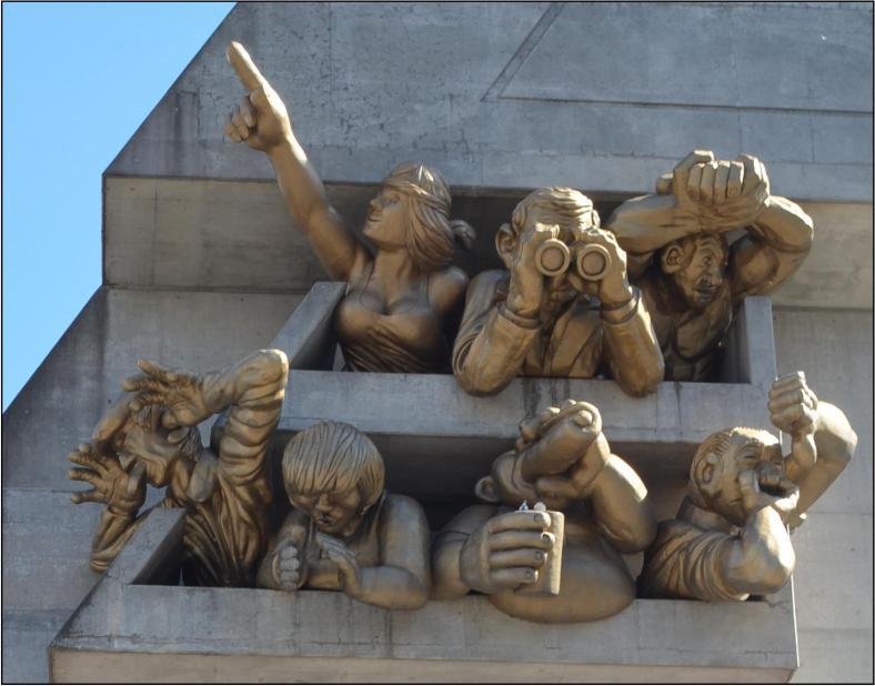 Fans sculpture