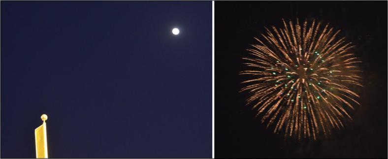 moon fireworks